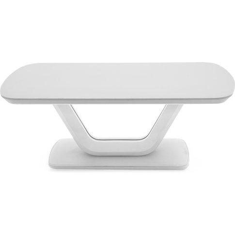 Lazzaro White Coffee Table