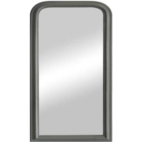 Marie Grey Arched Mirror