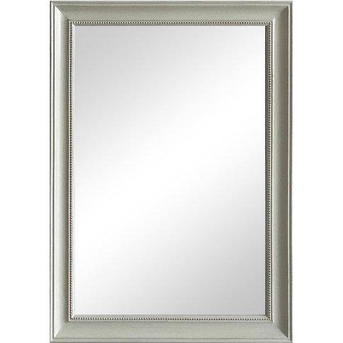 Nancy White Rectangular Mirror