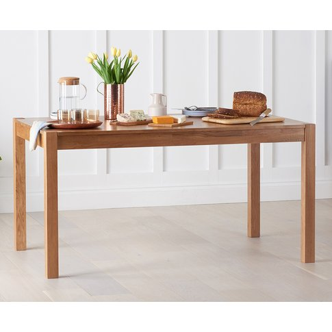 Oxford Solid Oak 150cm Dining Table