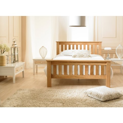 Dulwich Solid Oak King Size Bed