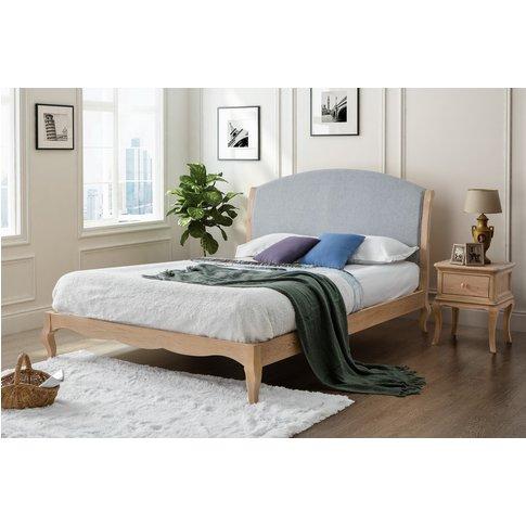 Virginia Double Oak Bed