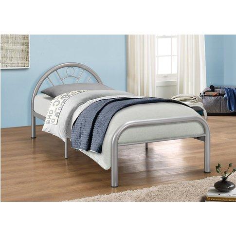 Louisville Silver Single Bed
