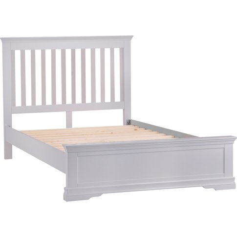 Simone Grey Super King Bed Frame
