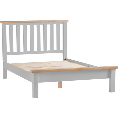 Willow Oak And Grey Super King Bed Frame