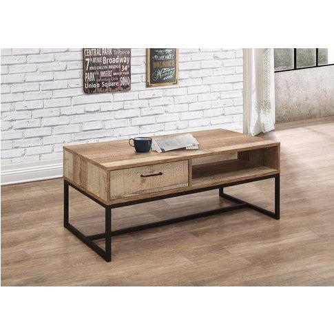 Wallis 1 Drawer Rustic Coffee Table