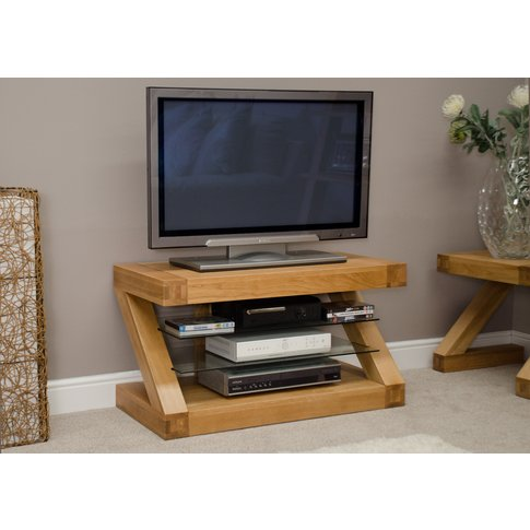 Infinity 90cm Solid Oak Tv Unit