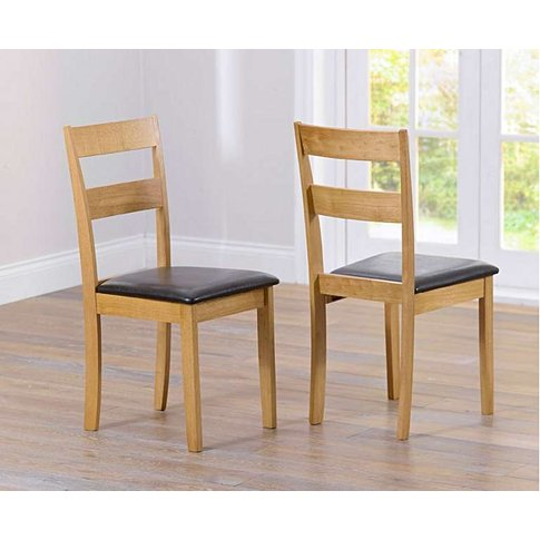 Hastings Oak And Brown Dining Chairs