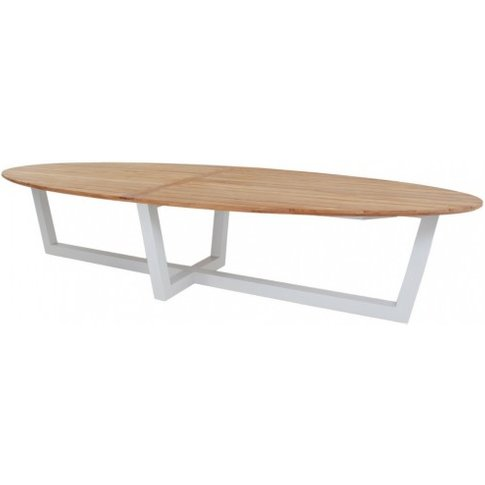 Bora Oval Dining Table