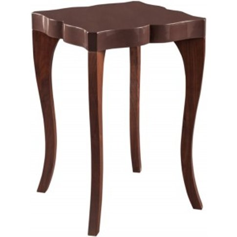Victoria - Side Table - Chocolate