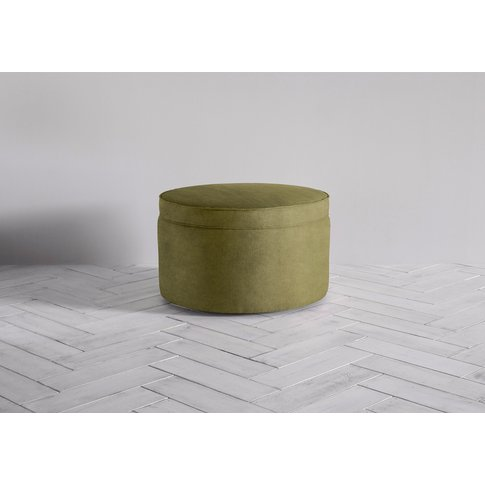 Isabella Storage Ottoman In Olive You Too