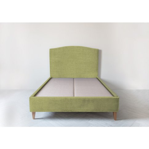 Astor 4'6'' Double Size Bed Frame In Plantain Cocktail