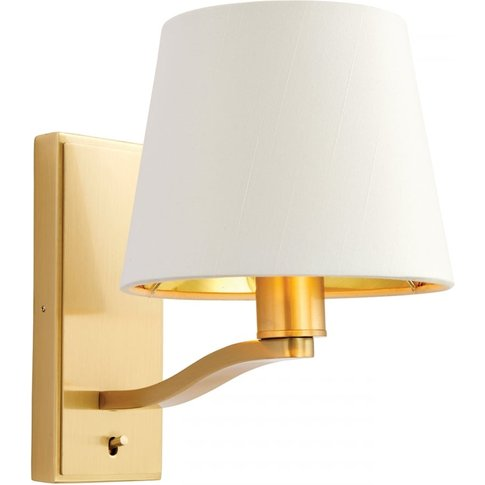 Tristan Simple Golden Wall Lamp