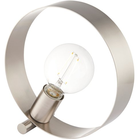 Magus Table Lamp In Brushed Nickel