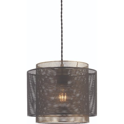 Kal Large Shade In Antique Brass