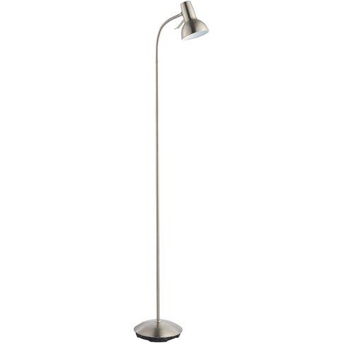 Axle Nickel Floor Lamp