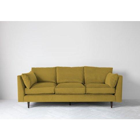 Roman Three-Seater Sofa In Sunshine On Rye