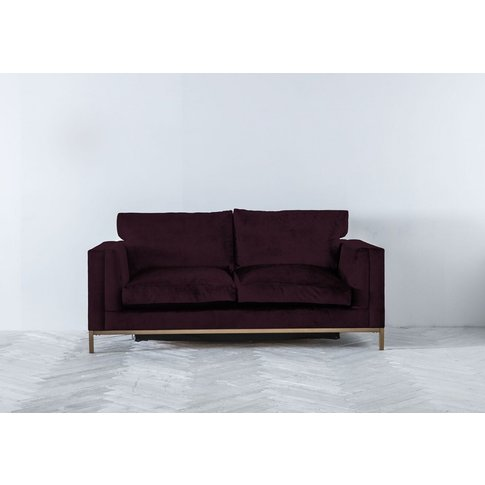 Jamie Three-Seater Sofa Bed In Sloe Lane