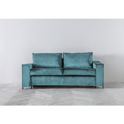 George Three-Seater Sofa Bed In Tide Turning