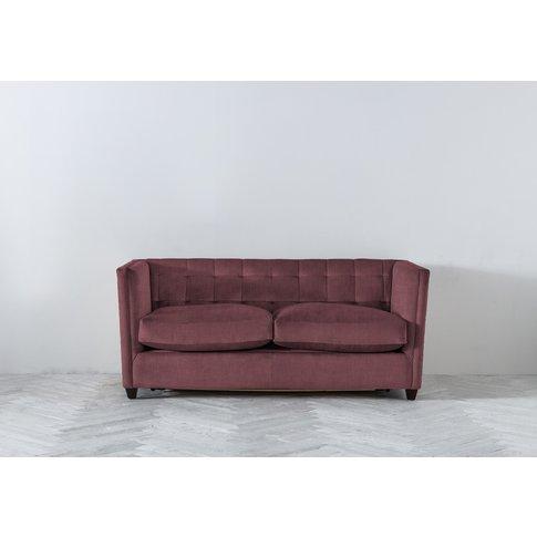 Lia Three-Seater Sofa Bed In Raspberry Jelly