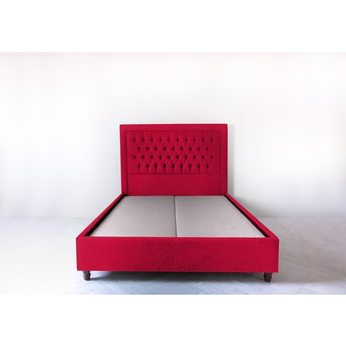 Mia 4'6'' Double Bed Frame In Royal Mail