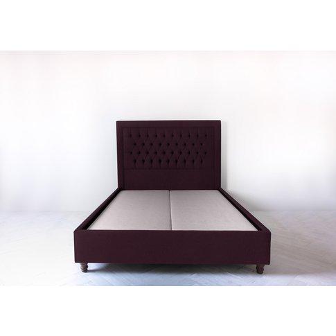 Mia 6' Super King Bed Frame In Sloe Lane