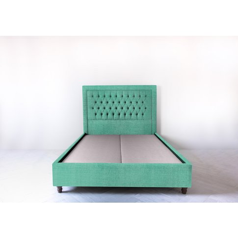 Mia 4'6'' Double Bed Frame In Fresh Mint