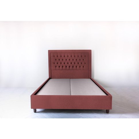 Mia 4'6'' Double Bed Frame In Chelsea Trouse