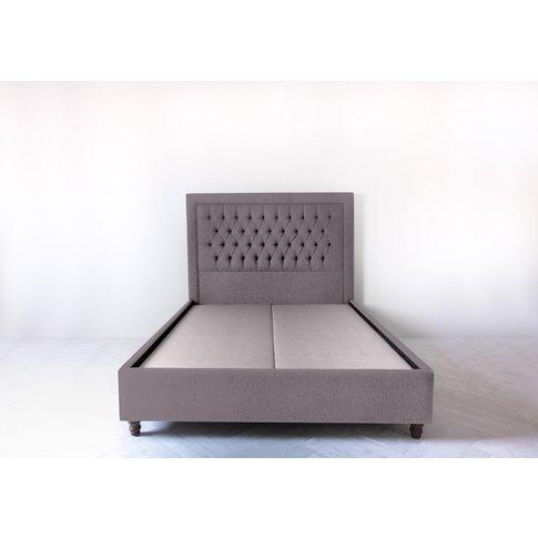 Mia 6' Super King Bed Frame In Damson In Distress