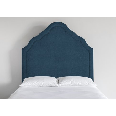 Kew 5' King Size Headboard In Oxford Blue