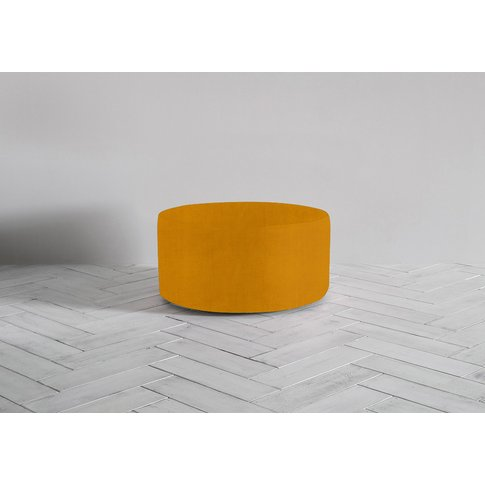 Lucy Footstool In Medallion Gold