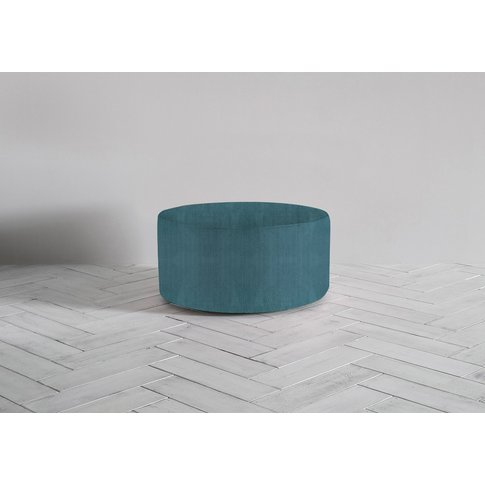 Lucy Footstool In Viridian