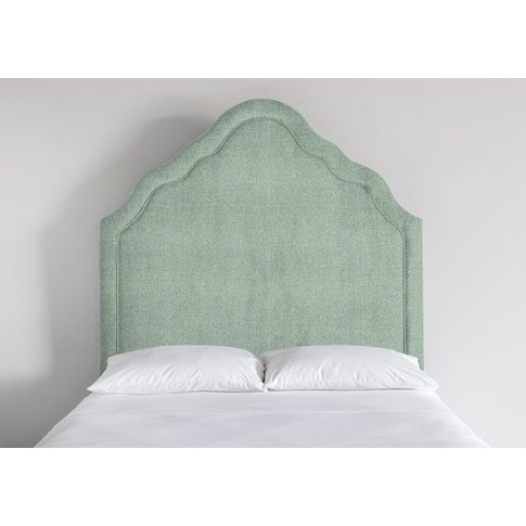 Kew 4'6 Double Size Headboard In Thyme Green""