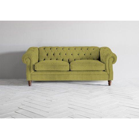 Algernon Three-Seater Sofa In Granny Smith