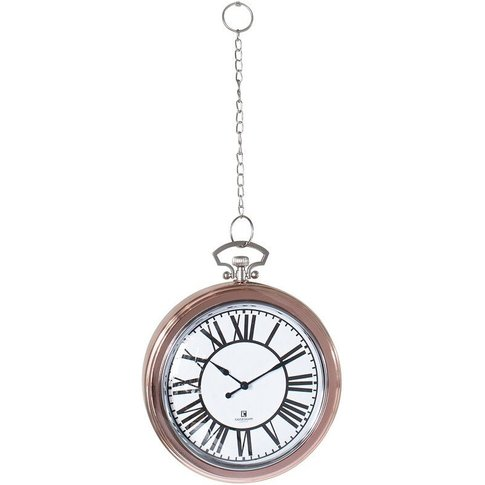 Barclay Wall Clock In Copper