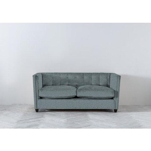 Lia Three-Seater Sofa Bed In Caspian Blue