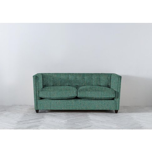 Lia Three-Seater Sofa Bed In Turtle Green