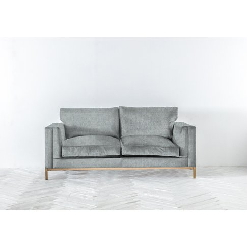 Jamie Three-Seater Sofa Bed In Airforce Blue