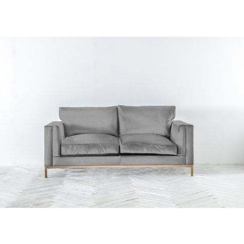 Jamie Three-Seater Sofa Bed In Silver Spoon