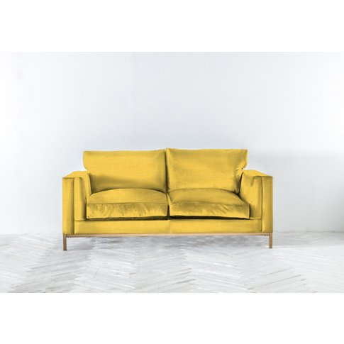 Jamie Three-Seater Sofa Bed In Summer Buttercup