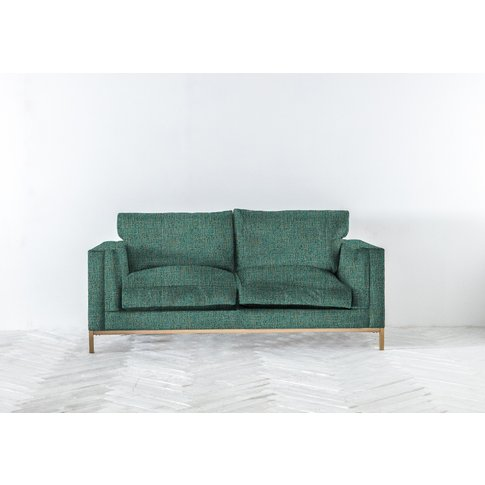 Jamie Three-Seater Sofa Bed In Turtle Green