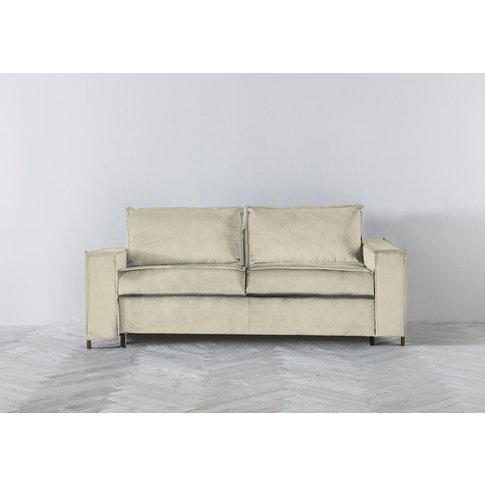 George Three-Seater Sofa Bed In Chantilly Cream