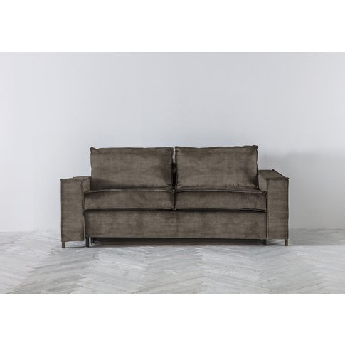 George Three-Seater Sofa Bed In Chestnut