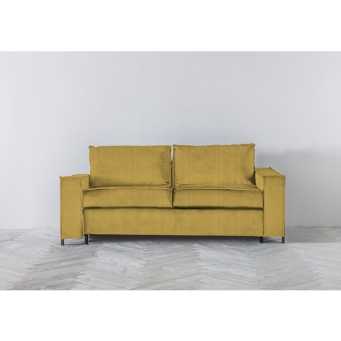 George Three-Seater Sofa Bed In Dandelion