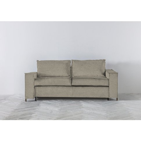 George Three-Seater Sofa Bed In Diamond Dust
