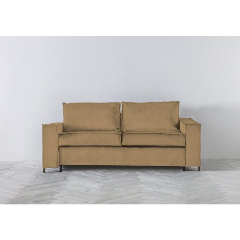 George Three-Seater Sofa Bed In Ginger Tea