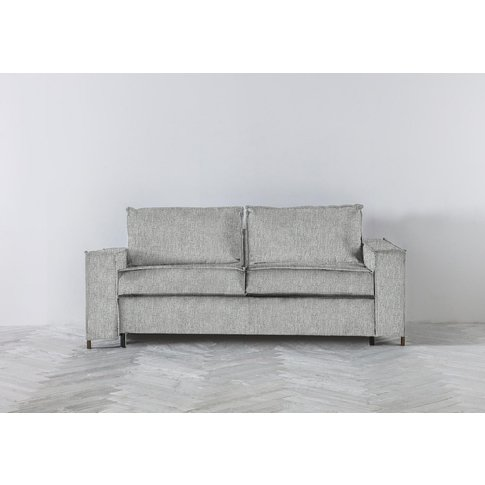 George Three-Seater Sofa Bed In The Great White