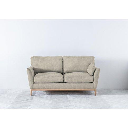 Nora Three-Seater Sofa Bed In Bone Grey