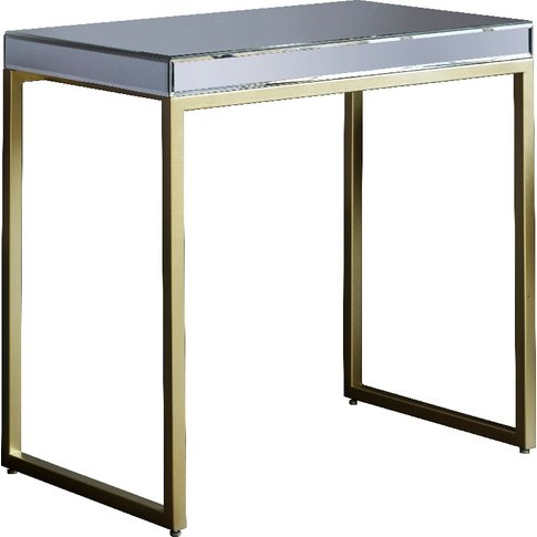 Damsay Side Table In Champagne