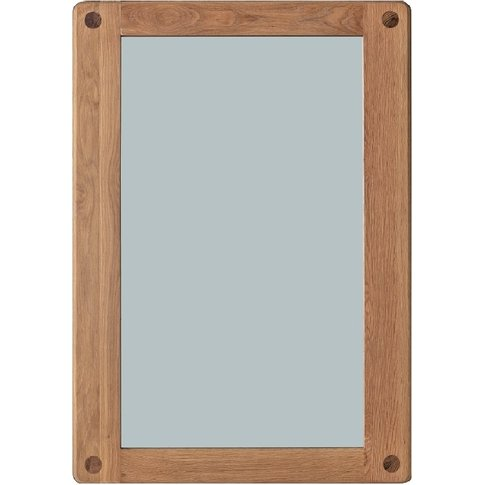 Rebecca Oak Wall Mirror